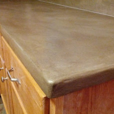 Traditional Kitchen by Clover Crete LLC - Surface Solutions