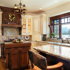 Traditional Kitchen by Dane Cronin Photography