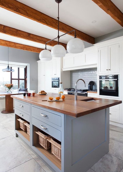 Cool Transitional Kitchen by Garrett Dillon Crafted Kitchens u Furniture