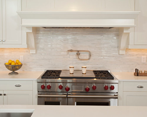 grey kitchen backsplash tile shop hampton carrara houzz 1494