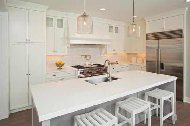 Beach Style Kitchen by REFINED LLC