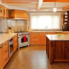 Traditional Kitchen by Denise Mitchell Interiors