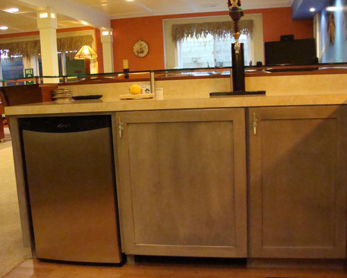 built in kegerator home design ideas pictures remodel and decor