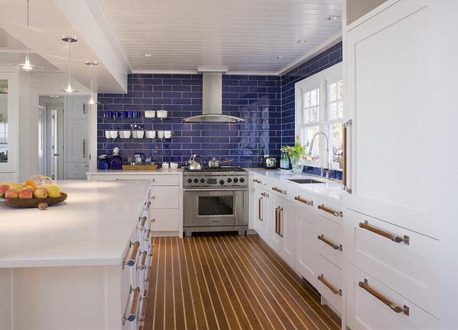 Beach Style Kitchen by Michael McKinley and Associates, LLC