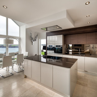 Design Ideas For A Nautical Kitchen In Cornwall.