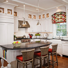 Beach Style Kitchen by Francie Milano Kitchens inc.