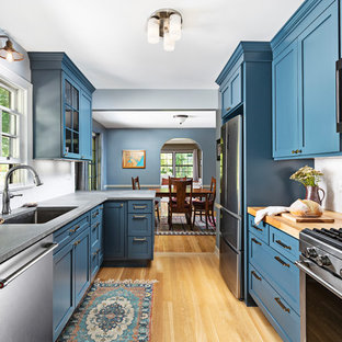 Small Coastal Kitchen Pictures Ideas