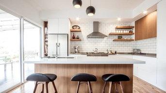 Coastal Eclectic Kitchen