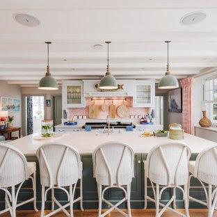 Inspiration for a beach style kitchen in Devon.