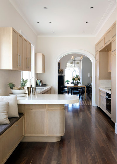 Transitional Kitchen by Brendan Wong Design