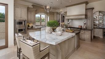 Coastal Kitchen and Breakfast Room