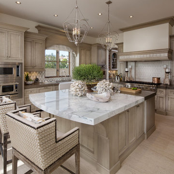 Coastal Kitchen and Breakfast Room