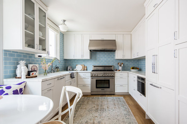 Beach Style Kitchen by Fireclay Tile