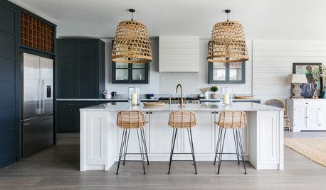 5 Ideas for Kitchen Island Pendants That Go Against the Grain