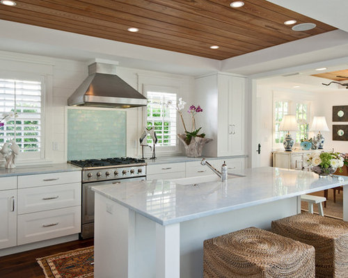 kitchen ideas and designs. Tropical eat in kitchen inspiration  idea Miami with Our 25 Best Kitchen Ideas Decoration Pictures Houzz