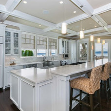 Traditional Kitchen by Tamara Rosenbloom Design LLC