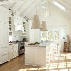 Beach Style Kitchen by lisa k. tharp - k. tharp design