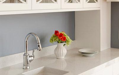 7 materiales para una encimera de cocina resistente y decorativa