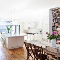 Transitional Kitchen by Bonaventura Architect