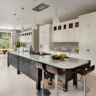 long kitchen island kitchen island houzz 3851