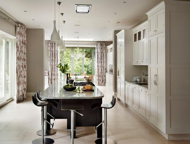 Nice Transitional Kitchen by Sola Kitchens