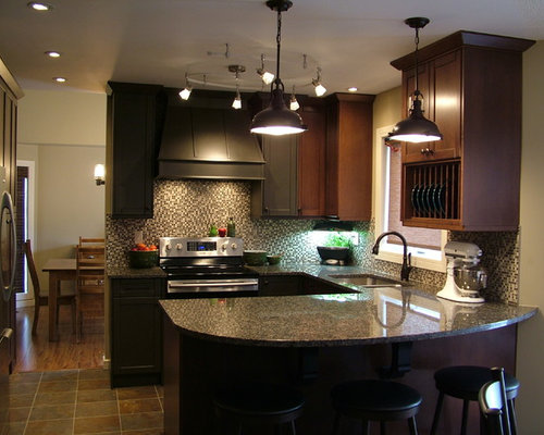 how to design kitchens small traditional eat in kitchen design ideas amp remodel 4373