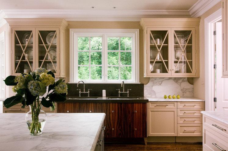 Eclectic Kitchen by Lobkovich Kitchen Designs, Inc.