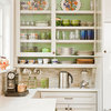 Jazz Up Your Kitchen With Colorful Cabinet Interiors