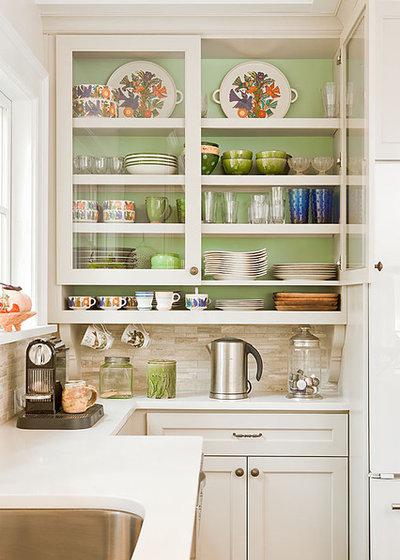22 grandes astuces gain de place pour optimiser une petite cuisine - Meubler une petite cuisine ...