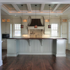 Contemporary Kitchen by Sea Island Builders LLC