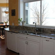 Traditional Kitchen by Inspire Kitchen and Bath Design