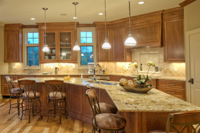 Traditional Kitchen by Ascent Custom Homes