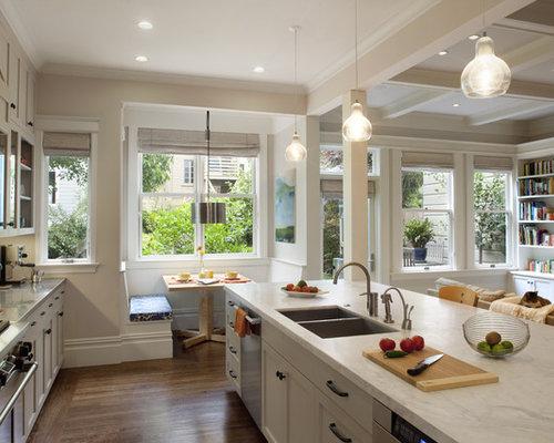 Kitchen Cabinets Ideas kitchen nook cabinets : Houzz | Built In Breakfast Nook And Cabinets Design Ideas ...