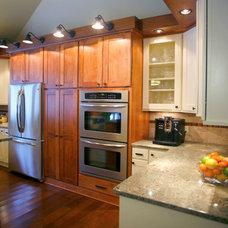 Craftsman Kitchen by Bauer Clifton Interiors