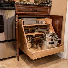 Transitional Kitchen by Zelmar Kitchen Designs & More, LLC