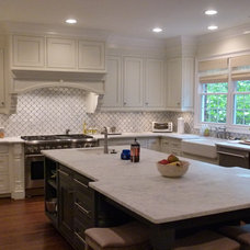 Traditional Kitchen by Custom House Designs by Lang Smith
