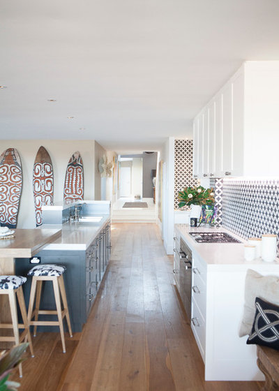 Beach Style Kitchen by The Renovation Broker