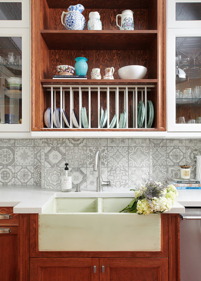 Eclectic Kitchen by HARRISON FAE DESIGN