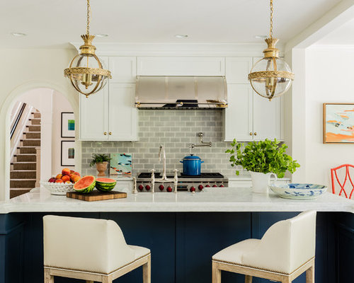 saveemail katie rosenfeld design - Transitional Kitchen Design