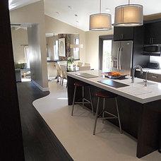 Contemporary Kitchen by Kitchen Design Services