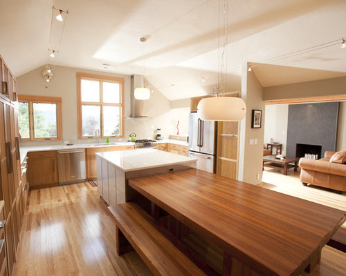 Floating Kitchen Island With Seating