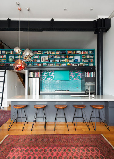 Industrial Kitchen by Meredith Lee