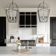 Transitional Kitchen by LVZ Design