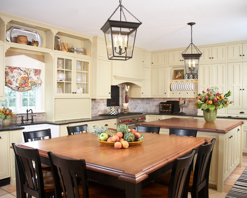 brown kitchen cabinets colonial kitchen houzz 1832