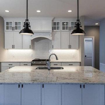 Colonial White Kitchen Countertop