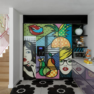 Color Modern House Interior