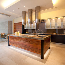 Contemporary Kitchen Color, Patterns and Texture