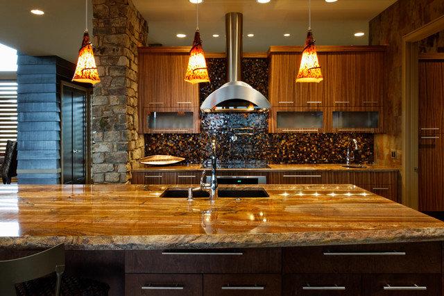 Eclectic Kitchen by Curt Hofer & Associates