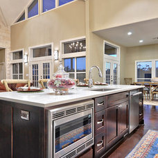 Transitional Kitchen by Twelve Stones Designs