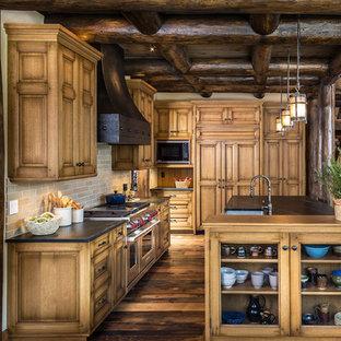 Rustic Oak Cabinets Houzz